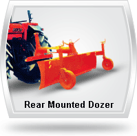 Rear Mounted Dozer for sale